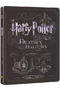 (1)해리포터와 죽음의 성물 1 [BD+DVD] [스틸북 한정판] [HARRY POTTER AND THE DEATHLY HALLOWS PART 1]