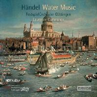 WATER MUSIC & CONCERTO GROSSO/ LAURENCE CUMMINGS [헨델: 수상음악, 합주협주곡 - 로렌스 커밍스]