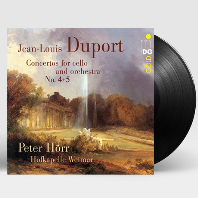 CONCERTOS FOR CELLO AND ORCHESTRA/ HOFKAPELLE WEIMAR, PETER HORR [뒤포르: 첼로 협주곡 - 페터 회르] [180G LP]