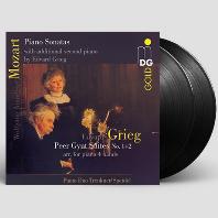 SONATAS & GRIEG: PEER GYNT SUITES/ PIANO DUO TRENKNER & SPEIDEL [모차르트: 피아노 소나타 & 그리그: 페르귄트 모음곡(피아노 편곡)| 트렌크너-슈파이델 피아노 듀오] [180G LP]