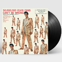 50,000,000 ELVIS FANS CAN`T BE WRONG: ELVIS GOLD RECORDS VOLUME 2 [LP]