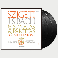 6 SONATAS & PARTITAS FOR VIOLIN/ JOSEPH SZIGETI [바흐: 무반주 바이올린을 위한 소나타와 파르티타 - 요제프 시게티] [한정반] [180G LP]