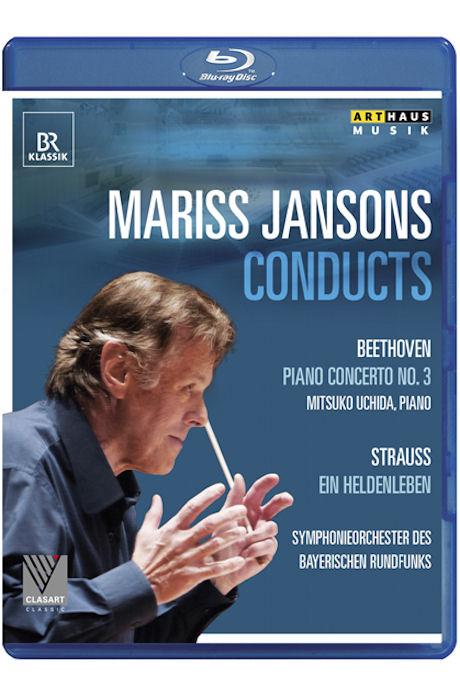 PIANO CONCERTO NO.3 & EIN HELDENLEBEN/ <!HS>MARISS<!HE> JANSONS, MITSUKO UCHIDA [베토벤: 피아노협주곡 3번 & 리하르트 슈트라우스: 영웅의 생애 - 얀손스 & 우치다]