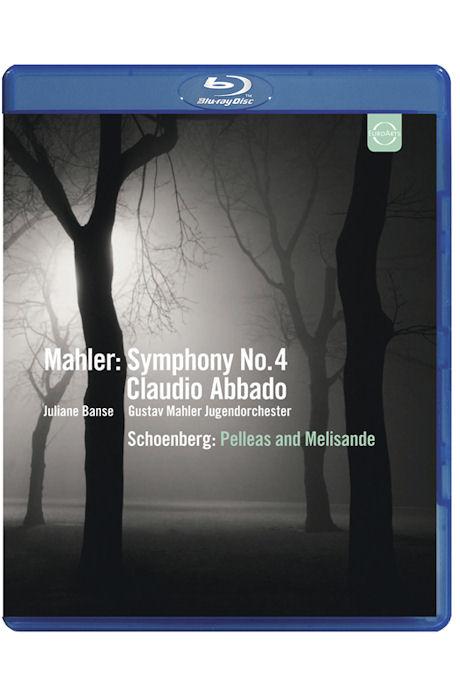 SYMPHONY NO,4 & PELLEAS AND MELISANDE/ CLAUDIO ABBADO [말러: 교향곡 & 쇤베르크: 펠리아스와 멜리장드]