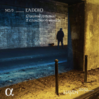 L`ADDIO/ SANDRINE PIAU, GIOVANNI ANTONINI [하이든 2032 프로젝트 9집: 교향곡 45번 <고별> 외]