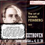 THE ART OF SAMUEL FEINBERG VOL.2: BEETHOVEN PIANO SONATAS NO.4,11,30 [사무엘 파인베르크의 예술 제2집]