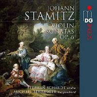 VIOLIN SONATAS OP.6/ STEFAN SCHARDT, MICHAEL BEHRINGER [SACD HYBRID] [슈타미츠: 바이올린소나타]