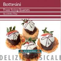 GIOVANNI BOTTESINI - THREE STRING QUARTETS/ QUARTETTO ELISA