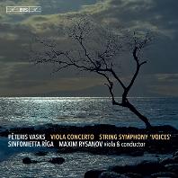 "VIOLA CONCERTO, STRING SYMPHONY ""VOICES""/ MAXIM RYSANOV [SACD HYBRID] [바스크스: 비올라 협주곡, 현악 오케스트라를 위한 교향곡 <목소리>]"