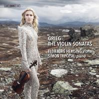 VIOLIN SONATAS/ ELDBJORG HEMSING, SIMON TRPCESKI [SACD HYBRID] [그리그: 바이올린 소나타 1-3번 | 엘드뵤르그 헴싱, 트르프체스키]