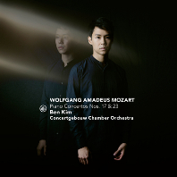 PIANO CONCERTOS NOS.17 & 23/ BEN KIM, MICHAEL WATERMAN [모차르트: 피아노 협주곡 17, 23, 17번 - 벤킴]