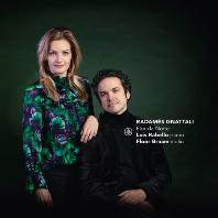 FLOR DA NOITE: MUSIC FOR VIOLIN & PIANO/ FLOOR BRAAM, LUIS RABELLO [그나탈리 & 빌라 로보스: 바이올린과 피아노를 위한 작품]