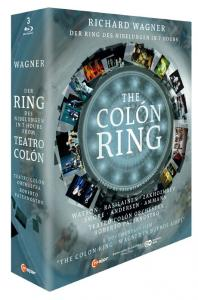 THE COLON RING: DER RING DES NIBELUNGEN IN 7 HOURS/ ROBERTO PATERNOSTRO [바그너: 니벨룽의 반지 7시간 축약 버전 & 다큐멘터리: 콜론의 반지]