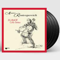 CELLO SUITES/ MSTISLAV ROSTROPOVICH [바흐: 무반주 첼로 모음곡 - 로스트로포비치] [180G LP]