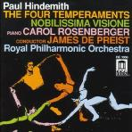 The Four Temperaments/ Carol Rosenberger/ James De Preist