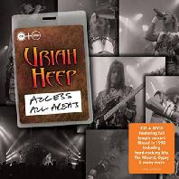 URIAH HEEP - ACCESS ALL AREAS [CD+DVD] [DELUXE EDITION]*