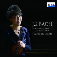3 SONATAS & 3 PARTITAS FOR SOLO VIOLIN/ YUZUKO HORIGOME [바흐 무반주 바이올린 소나타 & 파르티타 전곡]