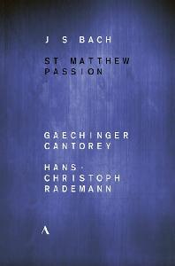 ST MATTHEW PASSION/ HANS-CHRISTOPH RADEMANN [바흐: 마태수난곡 - 라데만] [한글자막]