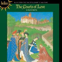 THE COURTS OF LOVE/ SINFONYE, STEVIE WISHART [HELIOS] [사랑의 궁정: 아퀴타인의 엘레노어 시대의 음악]