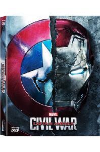 캡틴 아메리카: 시빌 워 3D+2D [풀슬립 A1 스틸북 한정판] [CAPTAIN AMERICA: CIVIL WAR]