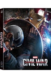 캡틴 아메리카: 시빌 워 3D+2D [렌티큘러 풀슬립 스틸북 한정판] [CAPTAIN AMERICA: CIVIL WAR]