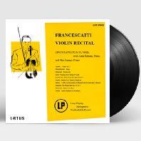 VIOLIN RECITAL/ ARTUR BALSAM, MAX LANNER [프란체스카티: 바이올린 리사이틀] [180G LP]