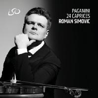 24 CAPRICES/ ROMAN SIMOVIC [파가니니: 24개 무반주 바이올린 카프리스 - 로만 시모비츠]
