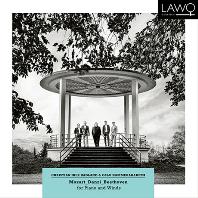 FOR PIANO & WINDS/ CHRISTIAN IHLE HADLAND, OSLO KAMMERAKADEMI [모차르트, 단치, 베토벤: 피아노와 목관을 위한 실내악]