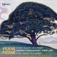PIANO QUINTET/ PIERS LANE, GOLDNER STRING QUARTET