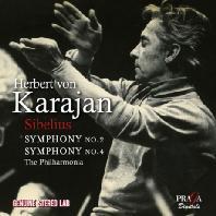 SYMPHONIES NOS.2 & 4/ HERBERT VON KARAJAN [시벨리우스: 교향곡 2 & 4번]