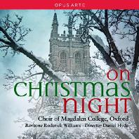 ON CHRISTMAS NIGHT/ CHOIR OF MAGDALEN COLLEGE OXFORD, DANIEL HYDE [막달렌 칼리지 합창단: 크리스마스 나이트]