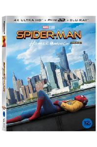 스파이더맨: 홈커밍 3D [4K UHD+BD] [슬립케이스 한정판] [SPIDER-MAN: HOMECOMING]