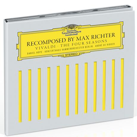 THE FOUR SEASONS: RECOMPOSED/ DANIEL HOPE, ANDRE DE RIDDER [BONUS TRACKS: SHADOW] [CD+DVD] [막스 리히터: 비발디 사계 리메이크 - 두번째 버전]