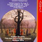 VIOLIN CONCERTO NO.1/ VADIM BRODSKY, ANTONI WIT