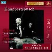 SYMPHONY NO.4 & TOD UND VERKLARUNG/ HANS KNAPPERTSBUSCH [슈만: 교향곡 &  R.슈트라우스 '죽음과 변용]