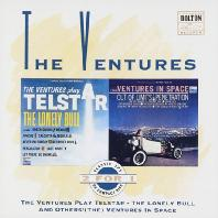 VENTURES - THE VENTURES PLAY TELSTAR: THE LONELY BULL AND OTHERS & VENTURES IN SPACE