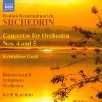 CONCERTOS FOR ORCHESTRAS NOS.4 & 5/ KIRILL KARABITS