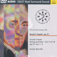 STRING QUARTETS VOL.11: OP.71, NOS.1 & 3/ AURYN QUARTET [DVD AUDIO]