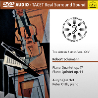 PIANO QUARTET OP.47, PIANO QUINTET OP.44/ AURYN QUARTET [DVD AUDIO]