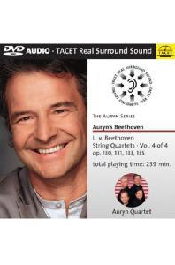 STRING QUARTETS VOL.4/ <!HS>AURYN<!HE> QUARTET [DVD AUDIO]