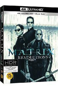 매트릭스 3: 레볼루션 [4K UHD+BD] [오링케이스 한정판] [THE MATRIX REVOLUTIONS]