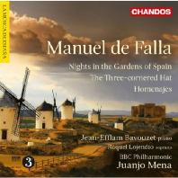 NIGHTS IN THE GARDENS OF SPAIN/ RAQUEL LOJENDIO, JUANJO MENA