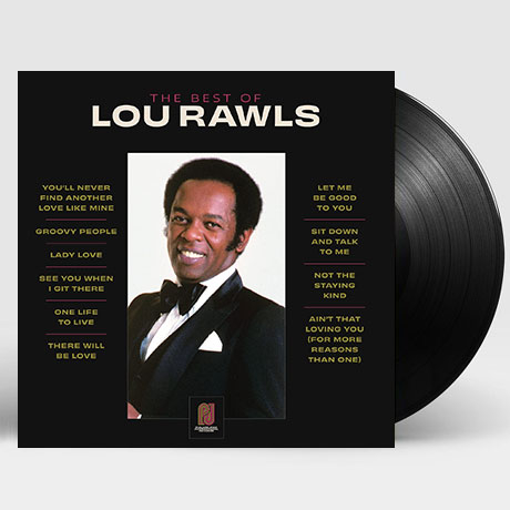 THE BEST OF LOU RAWLS [LP]