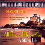 ALL THIS AND HEAVEN TOO A STOLEN LIFE/ WILLIAM STROMBERG [영화음악클래식]