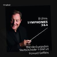 SYMPHONIES 3 & 4/ HOWARD GRIFFITHS [브람스: 교향곡 3, 4번]