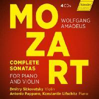 COMPLETE SONATAS FOR PIANO AND VIOLIN/ DMITRY SITKOVETSKY, KONSTANTIN LIFSCHITZ, ANTONIO PAPPANO [모차르트: 바이올린 소나타 전집 - 시트코베츠키 & 파파노]