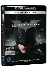 배트맨 비긴즈 [4K UHD+BD] [BATMAN BEGINS]