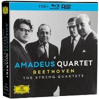 베토벤: 현악 사중주 전집 (7CD+BDA)