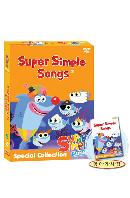 뉴 슈퍼심플송 스페셜 콜렉션 8종세트 [4DVD+4CD+가사집] [NEW SUPER SIMPLE SONGS]