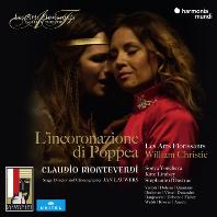 L`INCORONAZIONE DI POPPEA/ LES ARTS FLORISSANTS, WILLIAM CHRISTIE [몬테베르디: 포페아의 대관식 - 레자르 플로리상, 크리스티] [3CD+DVD]